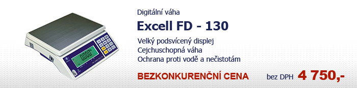 Váha Excell FD-130