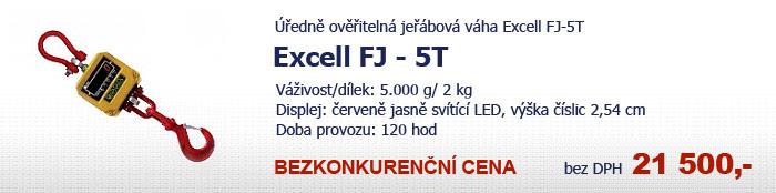 Závěsná jeřábová váha Excell FJ-5T