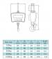 Závěsná jeřábová váha OCS-M1-1000kg