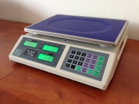 Váha P-ACS-IP - prachotěsná a voděodolná