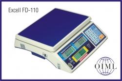Prodejní váhy EXCELL FD-110-6