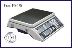 Prodejní váhy EXCELL FD-120