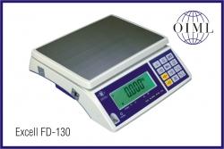 Prodejní váhy EXCELL FD-130, váživost až do 30kg