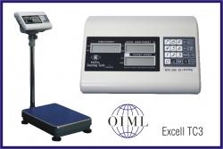 Počítací váha Excell DTC3