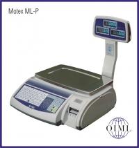 Prodejní etiketovací váha MOTEX ML-P