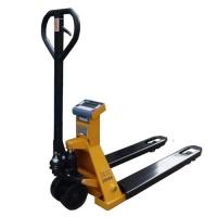 Paletový vozík s váhou NDP-1-2000kg/0,5kg s tiskem