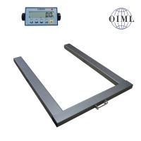 Paletová váha 1000 x 1300 mm s indikátorem DA