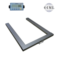 Paletová váha 820 x 1250 mm s indikátorem DA